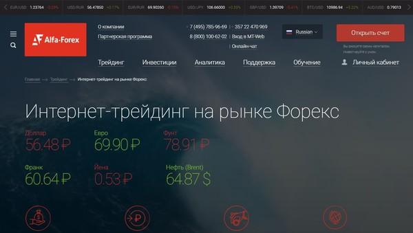 Alfa Forex Регистрация